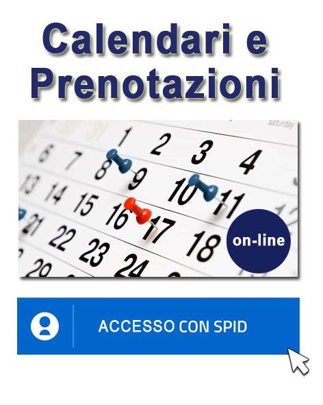 Prenotazioni e Calendari