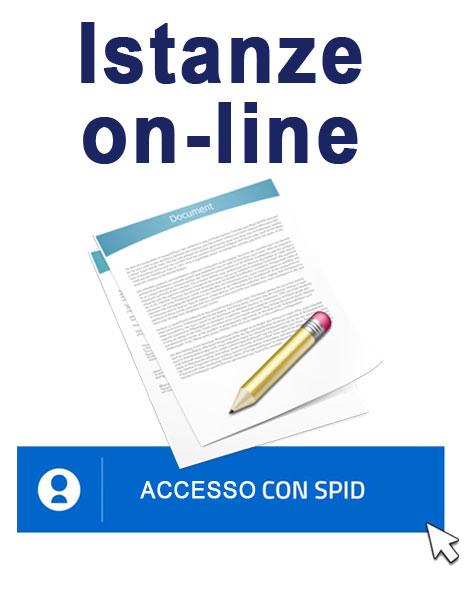 Presentazione istanze on-line